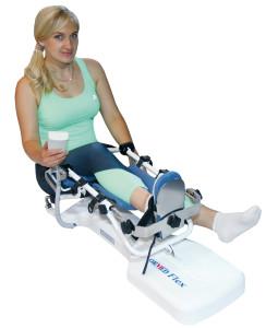 Аппарат для разработки коленного и тазобедренного суставов